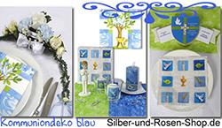 deko kommunion konfirmation silber und rosen shop. Black Bedroom Furniture Sets. Home Design Ideas