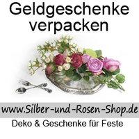 Geldgeschenke Verpacken Silber Und Rosen Shop