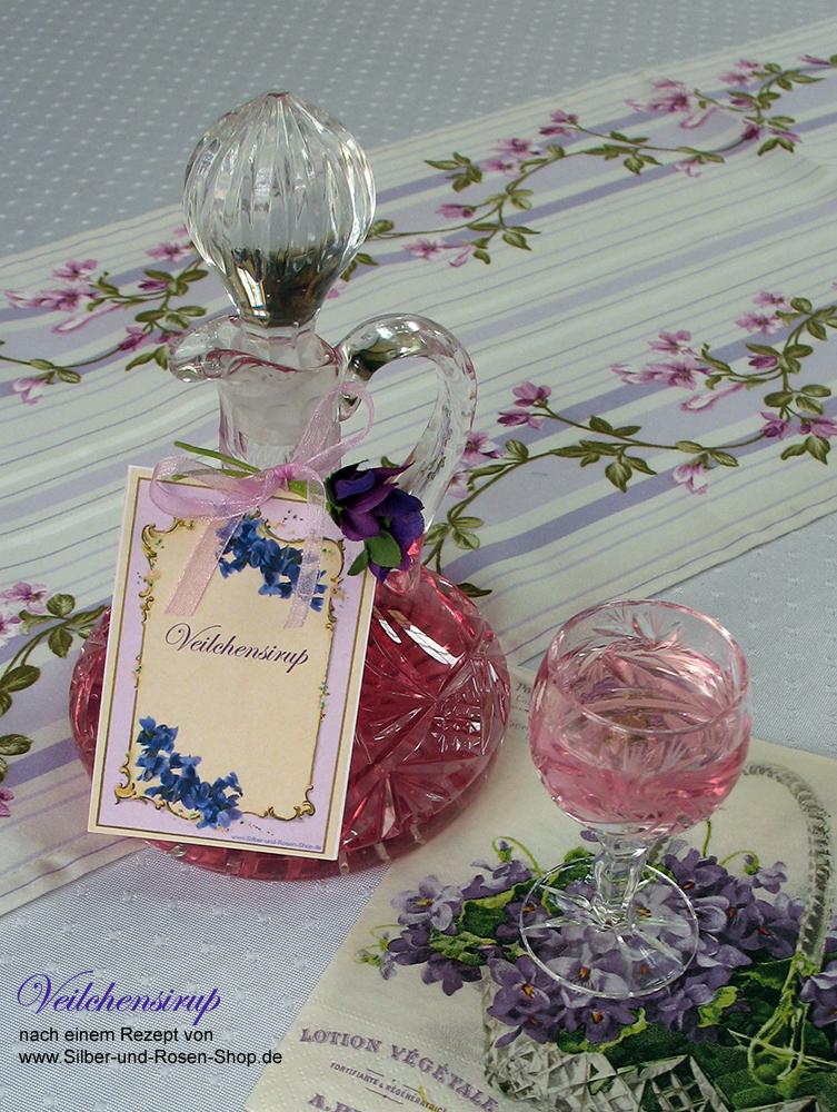 rezept zum veilchen und rosen kandieren silber und rosen shop. Black Bedroom Furniture Sets. Home Design Ideas