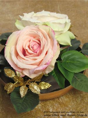 tischgestecke silber und rosen shop. Black Bedroom Furniture Sets. Home Design Ideas