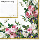 Papierservietten Sonderedition Royal Flowers