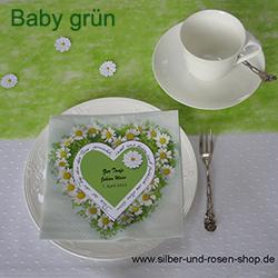 Deko Baby Taufe Silber Und Rosen Shop