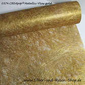 CREApop Metallic-Vlies gold 25 cm breit