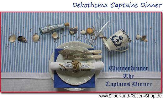 captains dinner silber und rosen shop. Black Bedroom Furniture Sets. Home Design Ideas