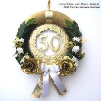 Dekotipps Zur Goldenen Hochzeit Silber Und Rosen Shop
