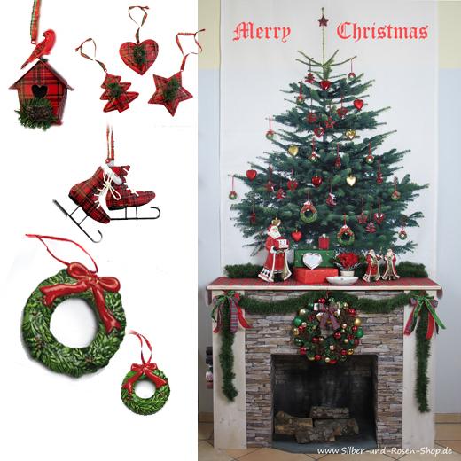 Weihnachtsdeko in englisch