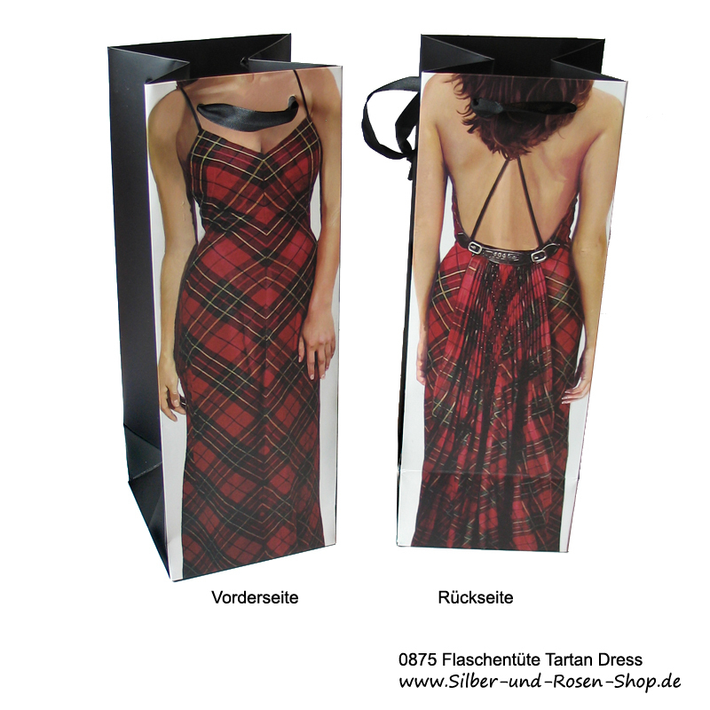 Flaschentüte Tartan Dress Bag