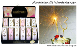 Wondercandle Wunderkerzen