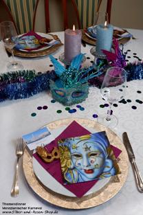 Dekotipps Zum Venezianischen Karneval Silber Und Rosen Shop